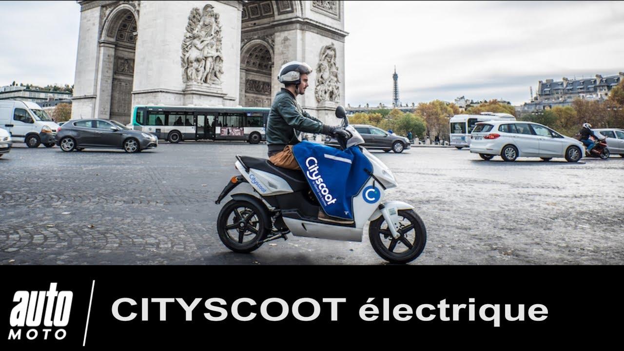 cityscoot test notre essai du scooter lectrique en location paris fonctionnement prix. Black Bedroom Furniture Sets. Home Design Ideas