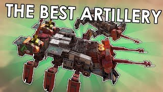Making The Best Artillery - Crossout Fusion