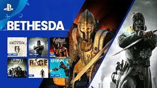 Bethesda   December 2017 Playstation Now Update | Ps4, Pc