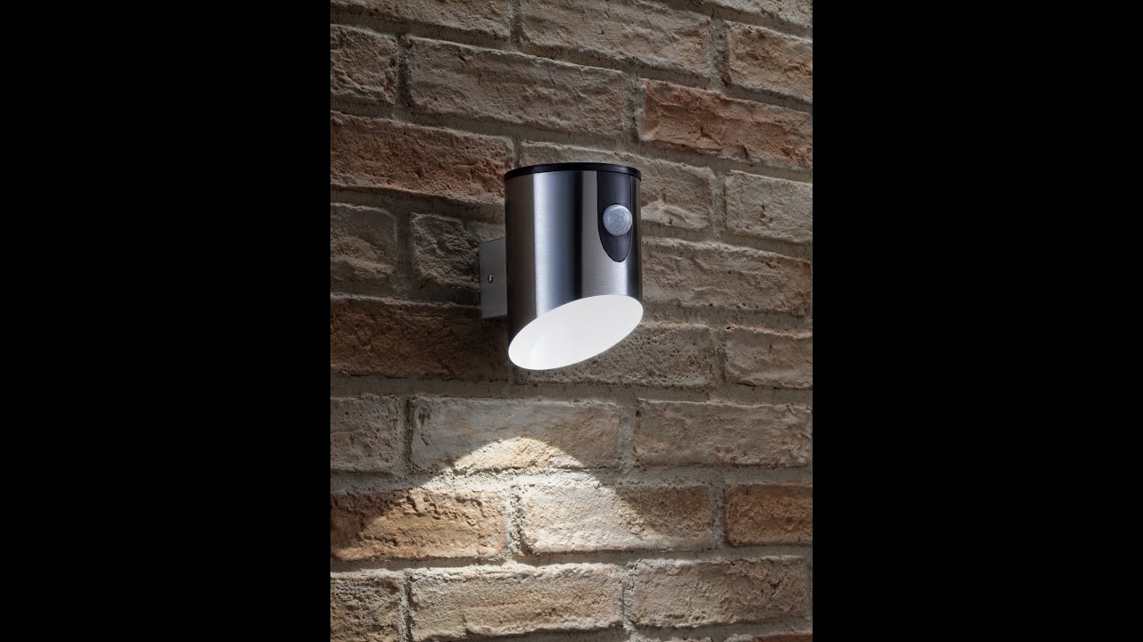 Auraglow Super Bright Battery Operated Motion Sensor Outdoor Security LED Light