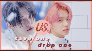 save one drop one  l  kpop songs (same group edition)