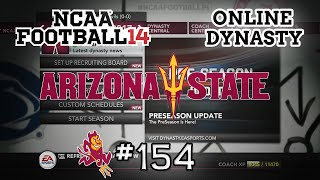 NCAA Football 14: Online Dynasty - E154 | S4 Off-Season & S5 Preseason