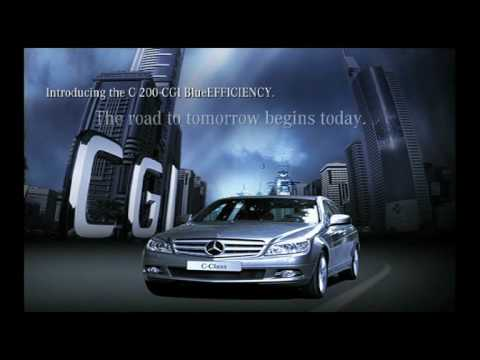 Mercedes-Benz's advanced CGI engine technology