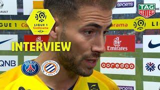 Interview de fin de match :Paris Saint-Germain - Montpellier Hérault SC (5-1) / 2018-19