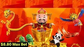 Gold Stack Slot Machine Max Bet Bonus |Dancing Drums,HEIDI'S BIER HAUS & Mighty Cash Double Up Slots