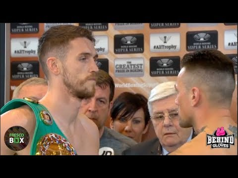 [HD] OFFICIAL CALLUM SMITH & NIEKY HOLZKEN - WORLD BOXING SUPER SERIES WEIGH-IN
