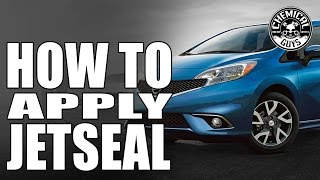 how to apply paint sealant torq22d chemical guys