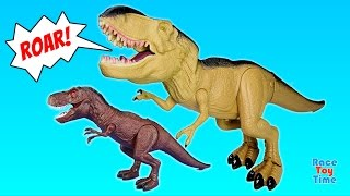 Dinosaur Tyrannosaurus Rex Walking with Sound and Light - Dinosaurs Toys For Kids