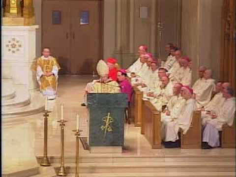 Auxiliary Bishop Robert C. Evans - Episcopal Ordination Remarks