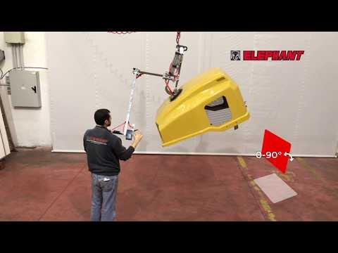 463. Sollevatore a ventosa pneumatico speciale lamiera - VLA1RP - Elephant srl