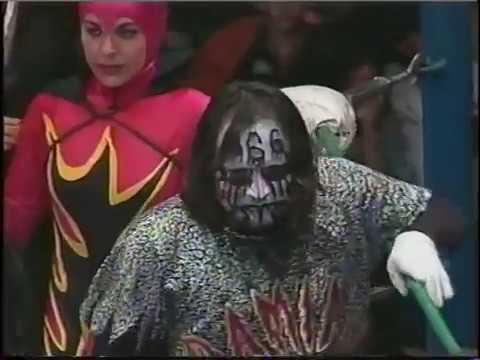 Damián 666/Espectro Jr./Halloween/Karis La Momia vs Pierroth Jr./Villano III/Villano IV/Villano V