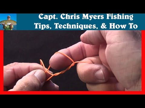 Improved Clinch Knot - Easy Fishing Knot