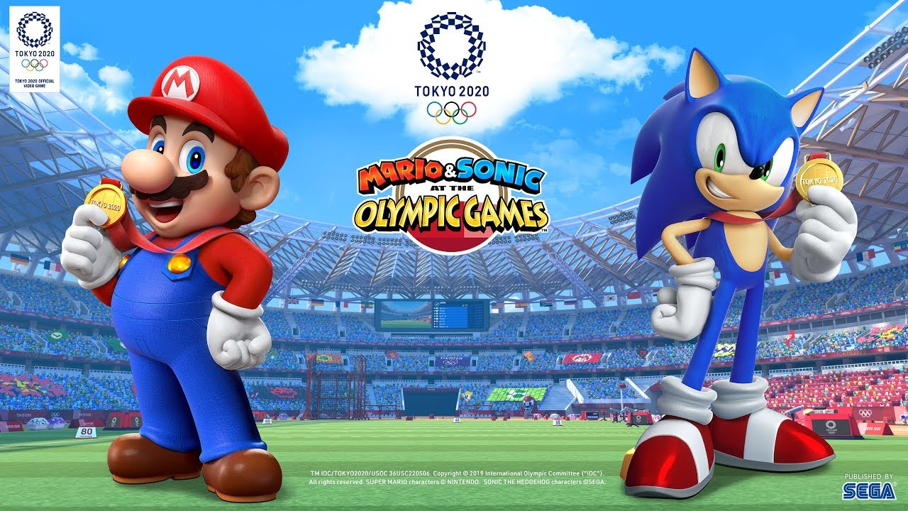 Mario & Sonic at the Olympic Games Tokyo 2020 - Reveal Trailer