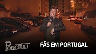Porchat invade show de Whindersson e procura fãs em Portugal