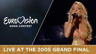 Shiri Maymon - Hasheket Shenish'ar (Israel) Live - Eurovision 2005