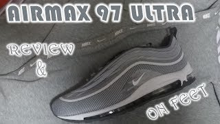 """Air Max 97 Ultra """"Wolf Grey"""" Review And On Feet"""