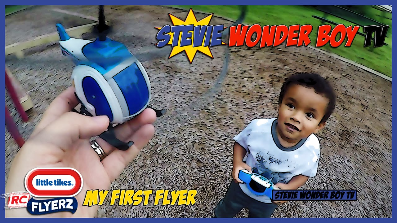 Little Tikes MY FIRST FLYER for Kids PLAY with RC HELICOPTER TOY Review