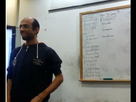 Algorithms analysis & Design - Dr.Ahmed Salah - Sec 4