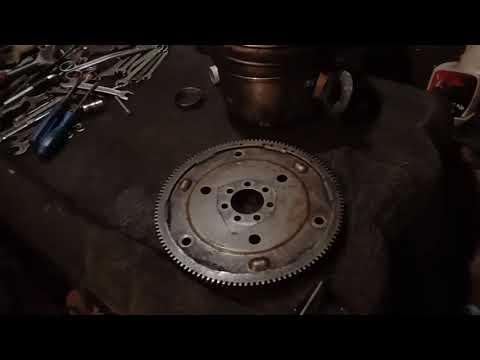 И опять поломка маховика АКПП  рено логан, ниссан альмера G15 (венец маховика )