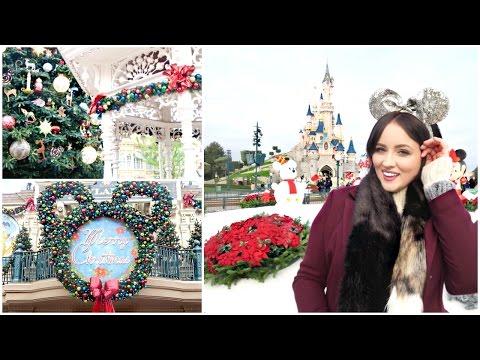 Disneyland Paris At Christmas! | Becca Rose Travel Vlog