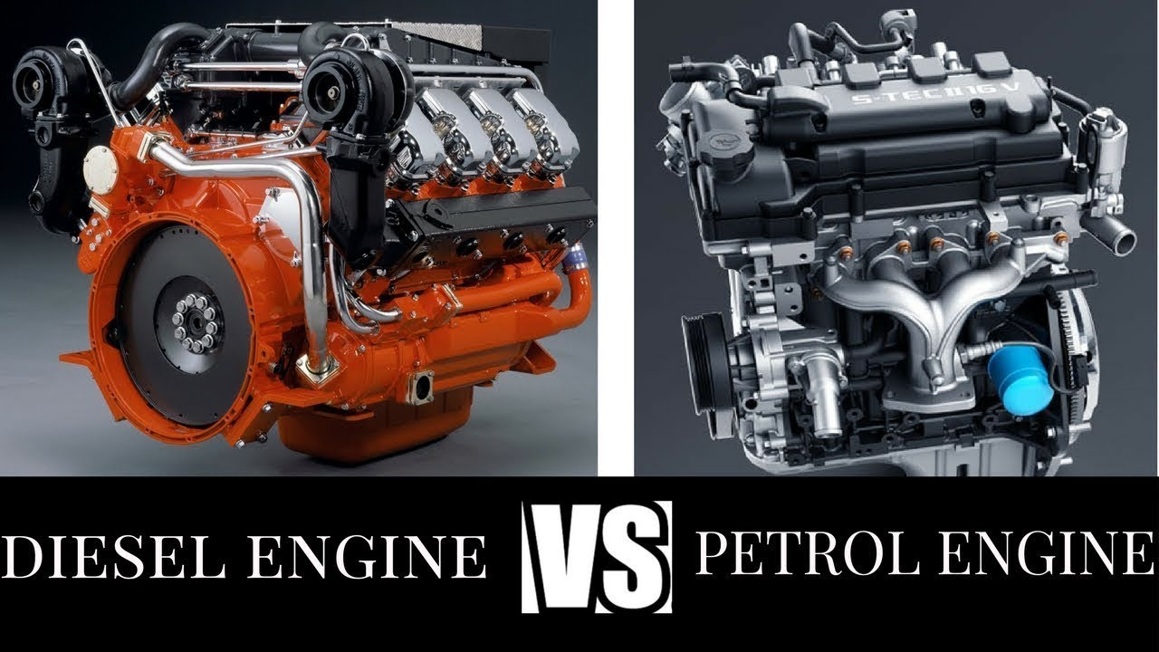 diesel and gasoline engines Most of our vehicles run either on gas or diesel, and we do have a fair idea of the differences between the two fuels, at least the main ones, which we confront in our daily lives we all know that diesel gives us better mileage than gas we are also aware that a gas or petrol engine is nippier, and.