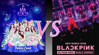 FIRST CONCERT OPENING: TWICE VS BLACKPINK