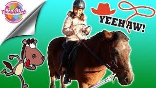 MILEYS ERSTE REITSTUNDE - MÄDCHENTRAUM wird WAHR - bekommt sie ein Pony? - Mileys Welt
