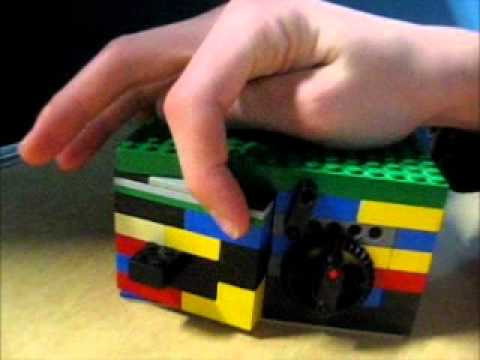 Lego Safe With 4 Combinations And Instructions Youtube