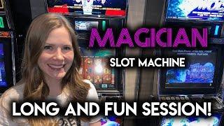 Magic Ian? LOL Funny Session on Magician Slot Machine!