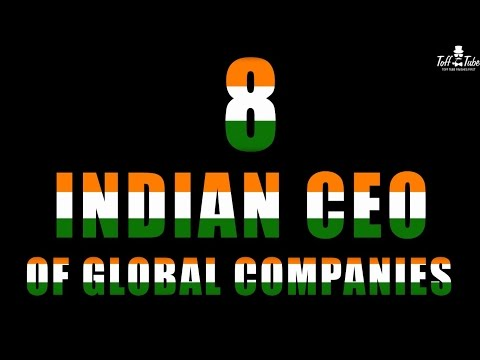 8 Indian CEO Leading Overseas Companies