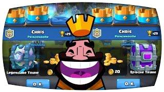 LEGENDÄRE & EPISCHE Truhe bekommen! | + King's Cup | Let's Play Clash Royale
