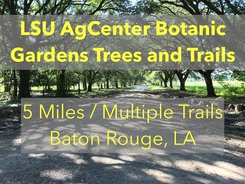 LSU AgCenter Botanic Gardens Trees and Trails - Trails in Louisiana Near Baton Rouge