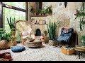 Bohemian Home Decor and Living Room Boho Style Interior Design Ideas