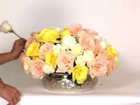 How To Arrange Flowers DIY Wedding Flowers Oasis Flower Arrangements