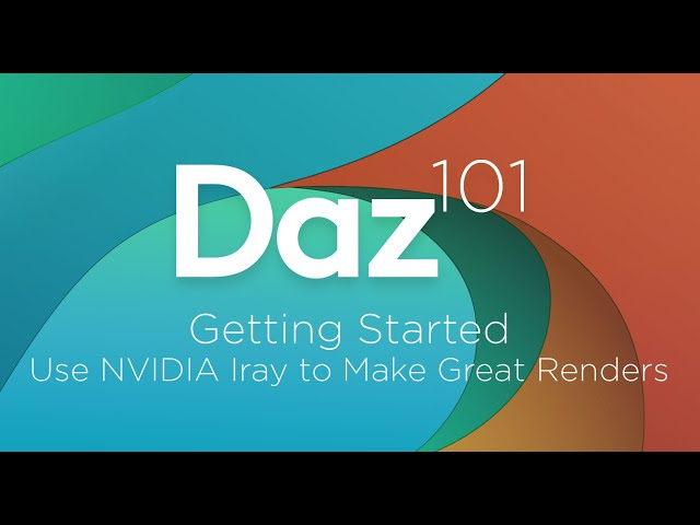 Getting Started in Iray - Daz Studio Free 3D Software Suite