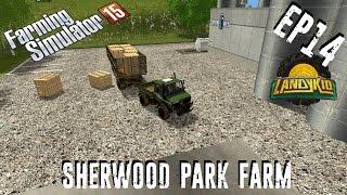 let's play | Farming Simulator 15 | Sherwood Park Farm | EP14