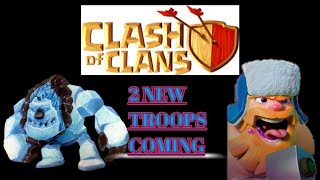 TWO NEW SEASONAL WINTER TROOPS ARE COMING???//WINTER UPDATE LEAK #2//CLASH OF CLANS...