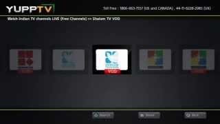 YuppTV App on PS3