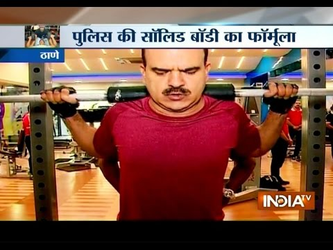 Mumbai Police Officers Joins Gym To Stay Fit And Healthy