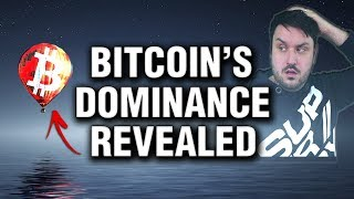 Bitcoin 's True Market Dominance  - Revealed