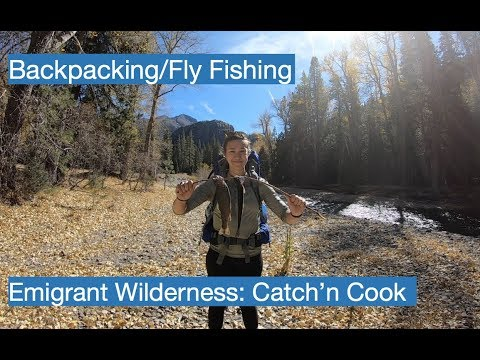 Kennedy Meadows Catch And Cook Rainbow Trout! Ep. 3 (Day 3 Backpacking)