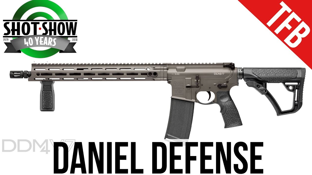 [SHOT 2018] New Products from Daniel Defense