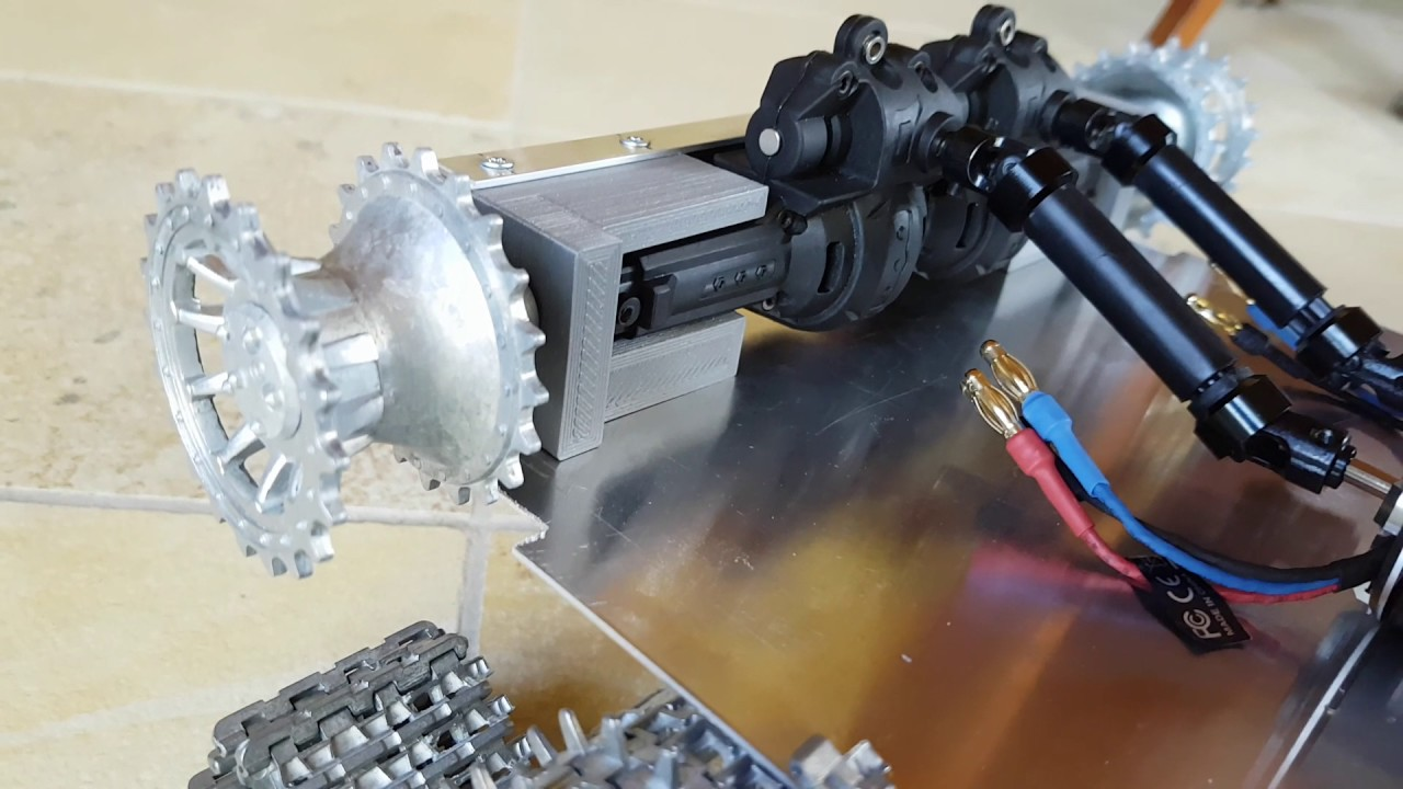 Maxresdefault on Rc Tank Gearbox