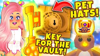 How To Get The KEY To Open The VAULT! New Ocean Map \u0026 Pet Accessories