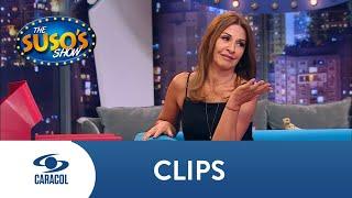 Amparo le pide comisión a Suso por todos los chistes que hace de ella  | Caracol Televisión