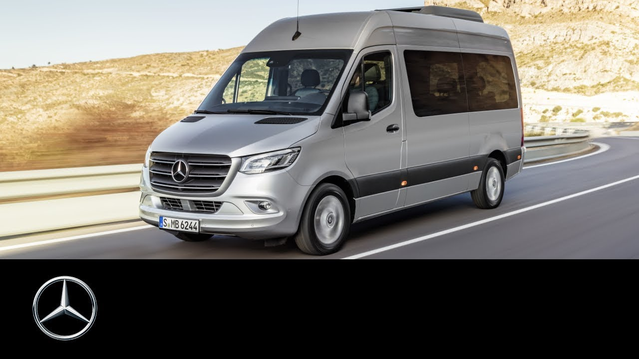 the new mercedes benz sprinter 60 seconds youtube. Black Bedroom Furniture Sets. Home Design Ideas