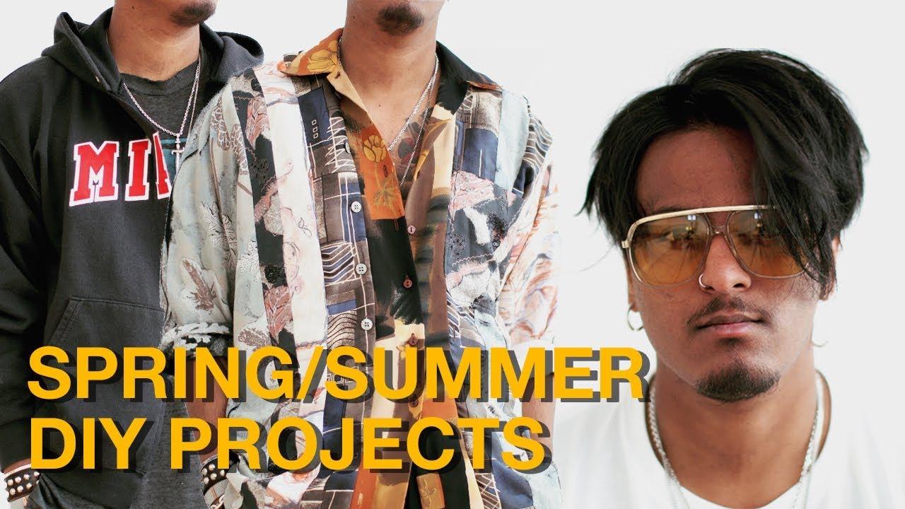 79b4a5fcae Spring Summer Fashion DIY Ideas - YouTube
