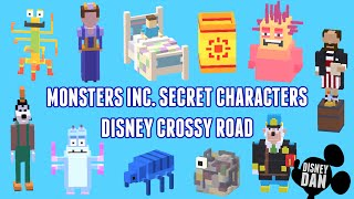 Disney Crossy Road Secret Character Token Scan All Six