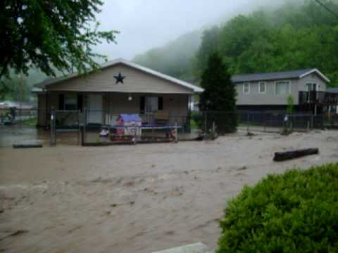 Mingo county flood, Rutherford Hd. North Matewan, WV