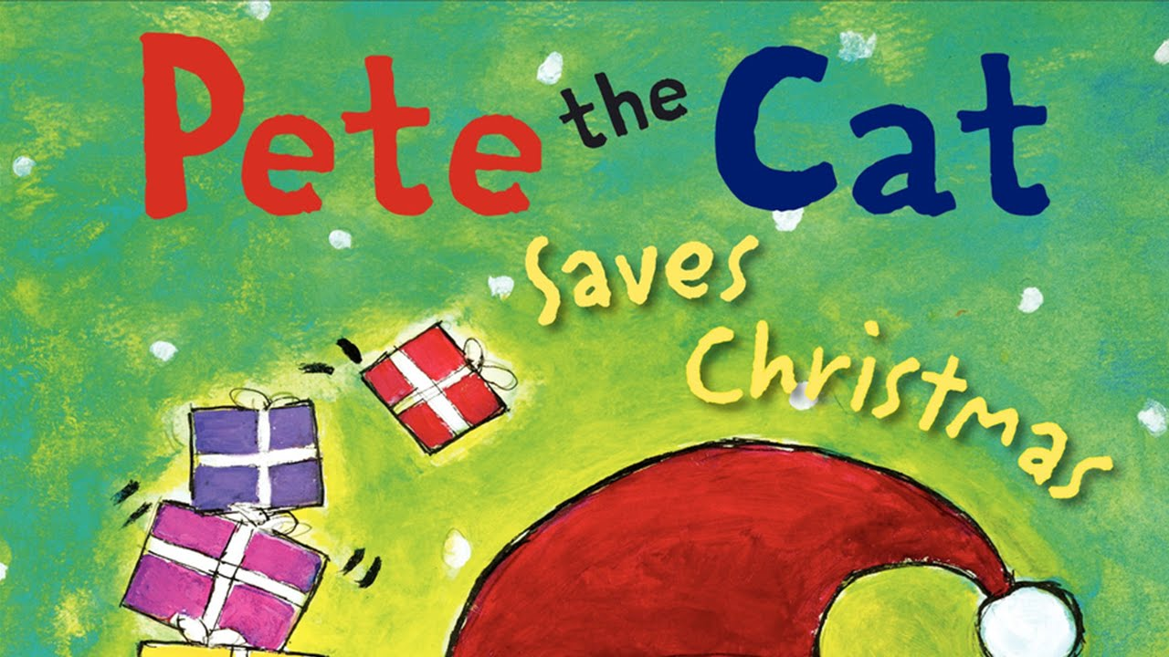 pete the cat saves christmas by eric litwin childrens books read aloud youtube - Pete The Cat Saves Christmas